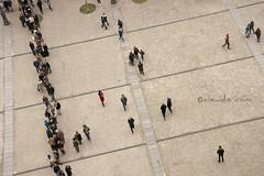 All around me are familiar faces (cocciula) Tags: travel people paris arte gente pompidou piazzale francia centrepompidou viaggio songs fila forme parigi mostre madworld formichine