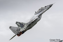 Slovakian MiG-29AS (Caspar Smit) Tags: nikon fighter aircraft aviation military jet airshow airforce mig leeuwarden slovak mig29 0921 mikoyangurevich d7000 ehlw