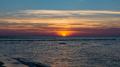 TH20160506A608489 (fotografie-heinrich) Tags: sonnenuntergang himmel ostsee zingst buhnen stdteortschaften