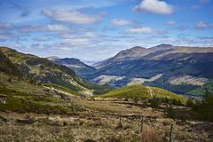 Loch Lubnaig & Strathyre (Hey hey JBA) Tags: uk trees landscape 50mm scotland hills plantation d750 loch trossachs strathyre lubnaig captureone