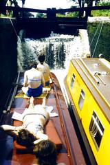 Slide 060-23 (Steve Guess) Tags: uk england museum canal lock pegasus derbyshire basin trent gb narrowboat mersey