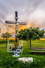 Viewpoint near Bad Camberg (Frank Lammel) Tags: 2016 badcamberg camberg fototour aussichtspunkt erbach landscape landschaft hessen kreuz religious
