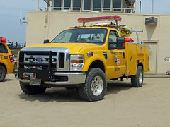 LA County Fire Department Life Guard (Emergency_Vehicles) Tags: life santa county venice ford beach fire los angeles monica guards department f350