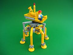 Bug Runner (David Roberts 01341) Tags: lego space transport technic walker scifi mecha mech allterrain minifigure mechanicaltoy