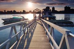 2006   Dadaocheng wharfTaipei (Iyhon Chiu) Tags: sunset d50 pier boat 2006 wharf  taipei       dadaocheng