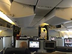 Cabine Business B777 KLM (Bertrand Duperrin) Tags: b777 b777200 businessclass klm