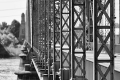 X X X (michael_hamburg69) Tags: hamburg germany deutschland river fluss elbe elbbrcke bridge alteharburgerelbbrcke 1899 stahlbogenbrcke stahl steel sderelbe steelarchbridge