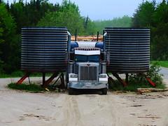 George Rempel (jr-transport) Tags: peterbilt 379 379x heavy spec hd log poplar pine spruce ontario koehring loadaligner barrels superior trailer