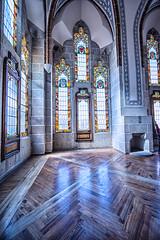 vidrieras-palacio-episcopal-Astorga_DSC5486-SNS (kanzer16) Tags: sony voigtlander architecture arquitectura ilce7r superwideheliar15mmf45iii sonya7r colors colores naturallight luznatural astorga espaa gaud palacio episcopal vidrieras