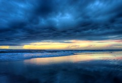 NSB Sunrise (09/03/2016) (TaranRampersad) Tags: beach hdr newsmyrnabeach florida sunrise oceanside seaside vibrant atlantic ocean sea