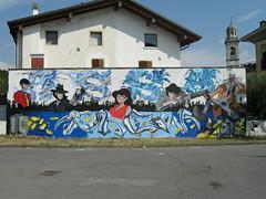 """Lupin"" by WIZ - KASY23 - MOSTRO and others (Wiz Art) Tags: urban italy streetart art wall writing photography graffiti artwork artist puppet spray urbanart streetartist writer halloffame lettering graffitiartist murales bergamo cartoons aerosolart graffitiart wiz sprayart streetstyle chiuduno graffitism sprayartist wizboy"