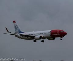 LN-DYG Norwegian Air Shuttle Boeing 737-8JP(WL) (Niall McCormick) Tags: dublin airport air norwegian shuttle boeing eidw 7378jpwl lndyg