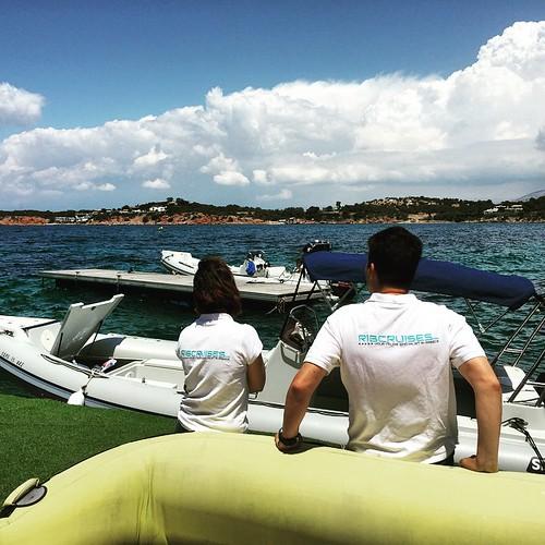 The team is ready! #sea #sun #greece #ribcruises #boat #cruise #greekislands