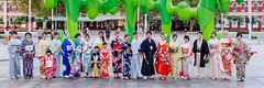 Perth Kimono Club at the Japan Festival Perth 2015