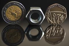 Smaller Than A Coin - Macro Monday (ereid88) Tags: macro reflection coin coins indoor hmm macromonday smallerthanacoin