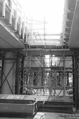 Maximabrug-604-b&w (leoval283) Tags: architecture river concrete construction roads viewing architectuur alphenaandenrijn alphen bezichtiging ouderijn dagvandebouw maximabrug maximabridge