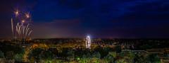 Mai markt (vinod kandrapu) Tags: city blue festival night lights fireworks pfalz landau gaintwheel