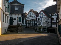 Tersteegenhaus (S_Artur_M) Tags: city germany deutschland lumix altstadt oldtown ruhrgebiet halftimbered fachwerk timbered mlheim lx100 tersteegenhaus