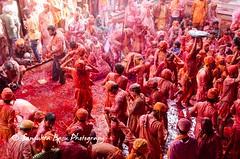 Barsana Nandgaon Lathmar Holi Low res (32 of 136) (Sanjukta Basu) Tags: holi festivalofcolour india lathmarholi barsana nandgaon radhakrishna colours