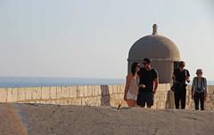 Dobrovnik (anvaliri) Tags: muro love canon couple pareja croatia walls dubrovnik hrvatska murallas 1585