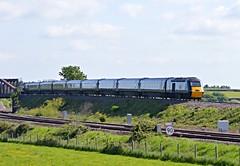 43188 & 43187,  Cogload Junction 16/05/2016 (CF Rail Photography) Tags: green diesel somerset flyover paignton hst gwr greatwesternrailway highspeedtrain londonpaddington class43 intercity125 43188 43187 1c04 cogloadjunction 16052016