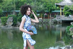 DP1U4529 (c0466art) Tags: park old light sea portrait building green pool girl beautiful creek canon garden costume nice interesting eyes scenery pretty skin outdoor gorgeous chinese large style double lips figure caribbean tall lovely charming tranditional 1dx c0466art