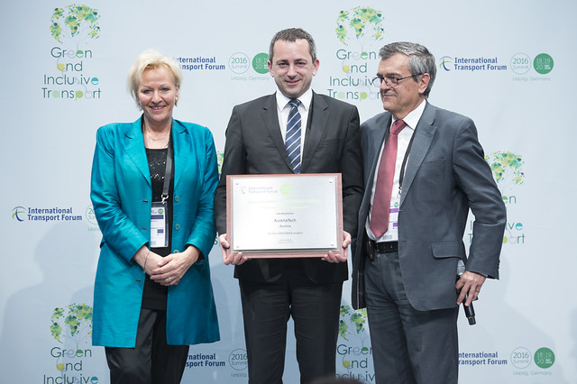 CROCODILE project, winner of 2016 ITF Transport Achievement Award