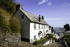 Down the Cobble Stones..Clovelly (Elaine 55.) Tags: village cobblestones devon clovelly cobbledstreet