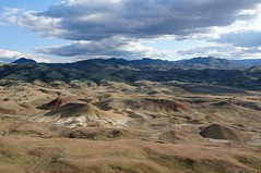 Rolling hills (YuriZhuck) Tags: usa nature oregon landscape fossil us or hill paintedhills johnday