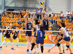 27251911 (roel.ubels) Tags: volleybal volleyball nederland oranje holland zuidkorea southkorea rotterdam topsportcentrum sport topsport 2016