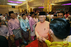 Majlis rumah terbuka aidilfitri Felda bersama FGV.Menara Felda,KLCC.21/7/16 (Najib Razak) Tags: majlis rumah terbuka aidilfitri felda bersama fgv menara