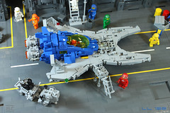LL 122 (I Scream Clone) Tags: classic lego space scifi benny