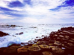 #giants #giantscauseway #ireland #northernireland #discoverireland #tourismireland #tourism #tourismni #tourismireland #finmccool #northcoast #beautiful #naturalwonder #nature #nautralbeauty #sea (AspirePhotography1) Tags: square squareformat hudson iphoneography instagramapp uploaded:by=instagram
