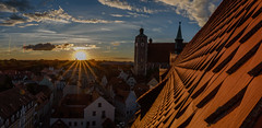 don't tell my wife (vindelikus) Tags: liebfrauenmnster dach ingolstadt roof sundown sonnenuntergang