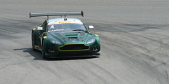 Number 4 (GTA) Aston Martin driven by Jorge De La Torre (albionphoto) Tags: pirelli pirelliworldchallengecadillacastonmartin ginetta sinr1 ktm tc tca gt gta mazda mx5 limerock ct usa 4 jorgedelatorre
