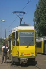 Berlin (Schneweide) (Jean (tarkastad)) Tags: tarkastad berlin allemagne germany deutschland strasenbahn streetcar tram tramway lrt lightrail