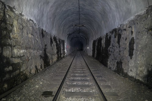 Albula Pass - Rugnux Tunnel