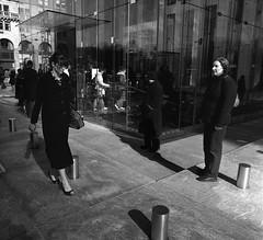 G.M. Building-5th Avenue, NY, 2008_645_27_2008 (kmovphoto830) Tags: bw newyork photography women manhattan citylife streetphotography 5thavenue streetlife applestore gmbuilding