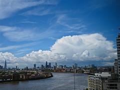 CuNim (Deepgreen2009) Tags: city storm london weather hail shower cumulonimbus canrywharf