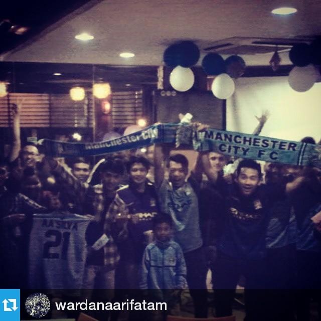 Lokasi Nobar: #Regram @wardanaarifatam ・・・ Nonbar terakhir yg luar biasa,thx MCSCI SOLO kalian luar biasa