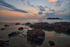 Pengkalan Balak Sunset | Scene 2 (Shamsul Hidayat Omar) Tags: tourism beach landscape photography high interesting nikon scenery dynamic shoreline places scene malaysia omar range hdr pulau melaka d3 balak hidayat greatphotographers shamsul pengkalan konek photoengine oloneo