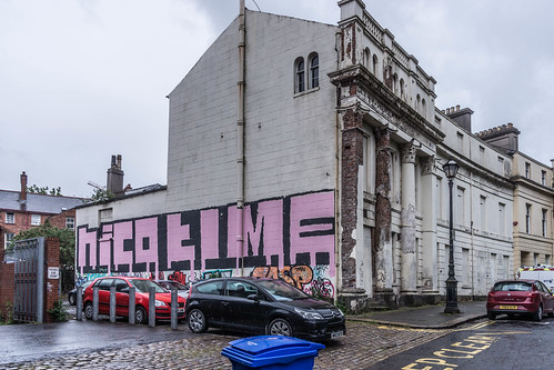 Street Art In Belfast [May 2015] REF-104710