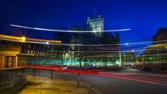 Mayday Bath street lights (Daz Smith) Tags: city uk longexposure people urban streets abbey canon lights bath traffic candid citylife thecity streetphotography trails mayday canon6d dazsmith bathstreetphotography