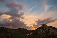 Tangerine Dreams (courtney_meier) Tags: sunset summer clouds evening colorado rockymountains magichour pinkclouds arkansasriver