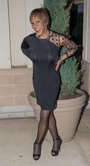 Posing Again! (kaceycd) Tags: pumps highheels mesh s tgirl seethrough stilettoheels pantyhose crossdress spandex lycra tg stilettos seethru minidress sexypumps opentoepumps peeptoepumps anklestrappumps