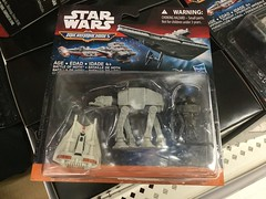 Star Wars Micromachines Battle of Hoth (splinky9000) Tags: terrain ontario toys rebel star back all probe transport battle kingston walker empire imperial wars strikes atat droid wal hasbro mart hoth the micromachines snowspeeder of