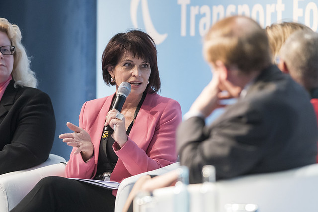 Doris Leuthard on Swiss rail infrastructure