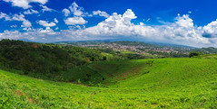 C.IMG_6026-Pano.. (Ibay Wungkul Photo) Tags: blue sky cloud color green nature landscape colorful bright outdoor background great best lovely beautyinnature