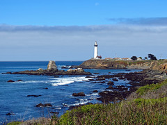 Pigeon Point Lighthouse (Ketrilla) Tags: california lighthouse landscape pigeonpoint