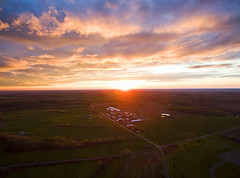 Take Flight (Matt Champlin) Tags: life sunset home nature beautiful clouds barn rural evening colorful farm country farming saturday aerial cny fingerlakes aerialphotography drones drone 2016 skaneateles dji djiphantom3